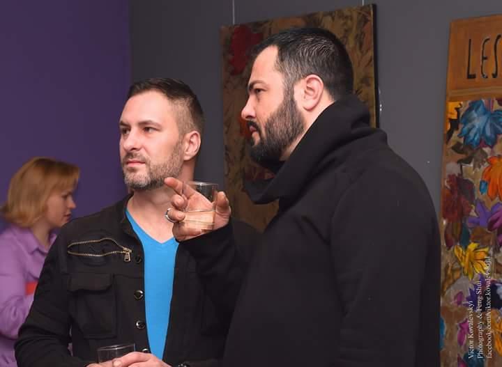 Валерій Петров (ліворуч) і Армандо Шадон. Facebook / Валерія Петрова