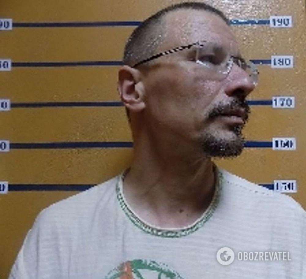 Володимир Живага після затримання
